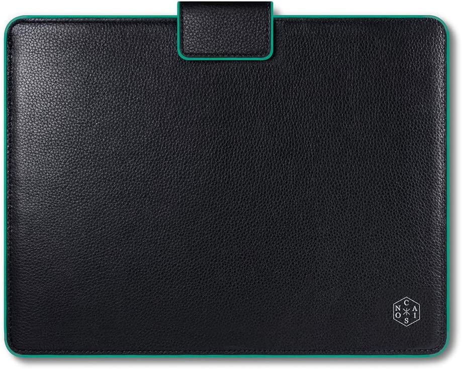 "CAISON 12 inch Genuine Leather Laptop Sleeve Case for 2019 New 12.3 inch Microsoft Surface Pro 7/12.3"" Google Pixel Slate / 12.2"" Acer Switch 3/12"" Huawei Matebook E"