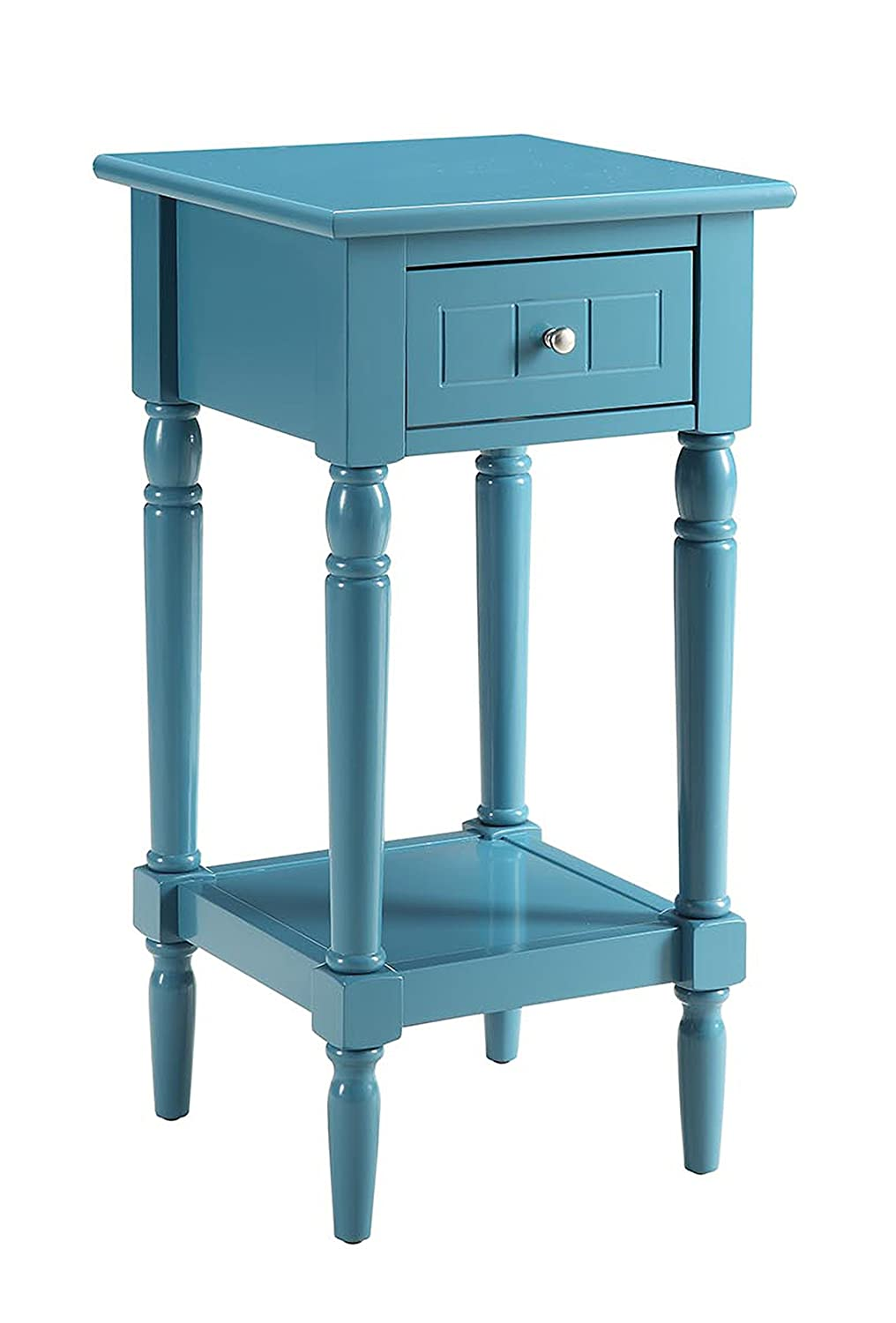 Amazon.com: Convenience Concepts French Country Khloe Accent Table ...