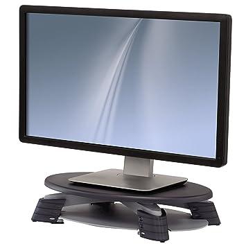 fellowes 91450 compact tft lcd monitor riser graphite amazon co uk