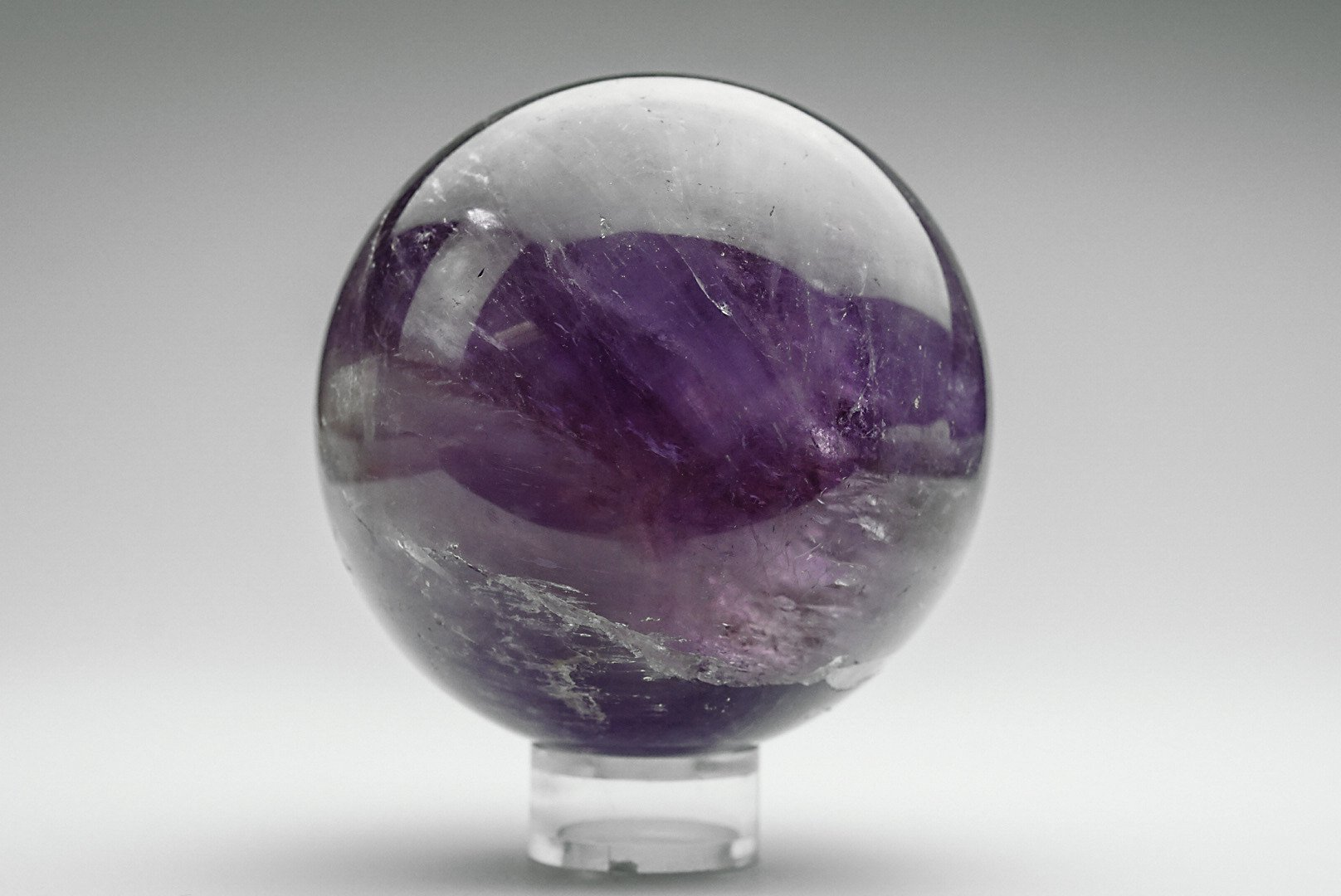 Astro Gallery Of Gems Amethyst Sphere by Astro Gallery Of Gems