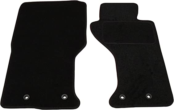 Fully Tailored Deluxe Car Mats In Black Amazon Co Uk Car Motorbike
