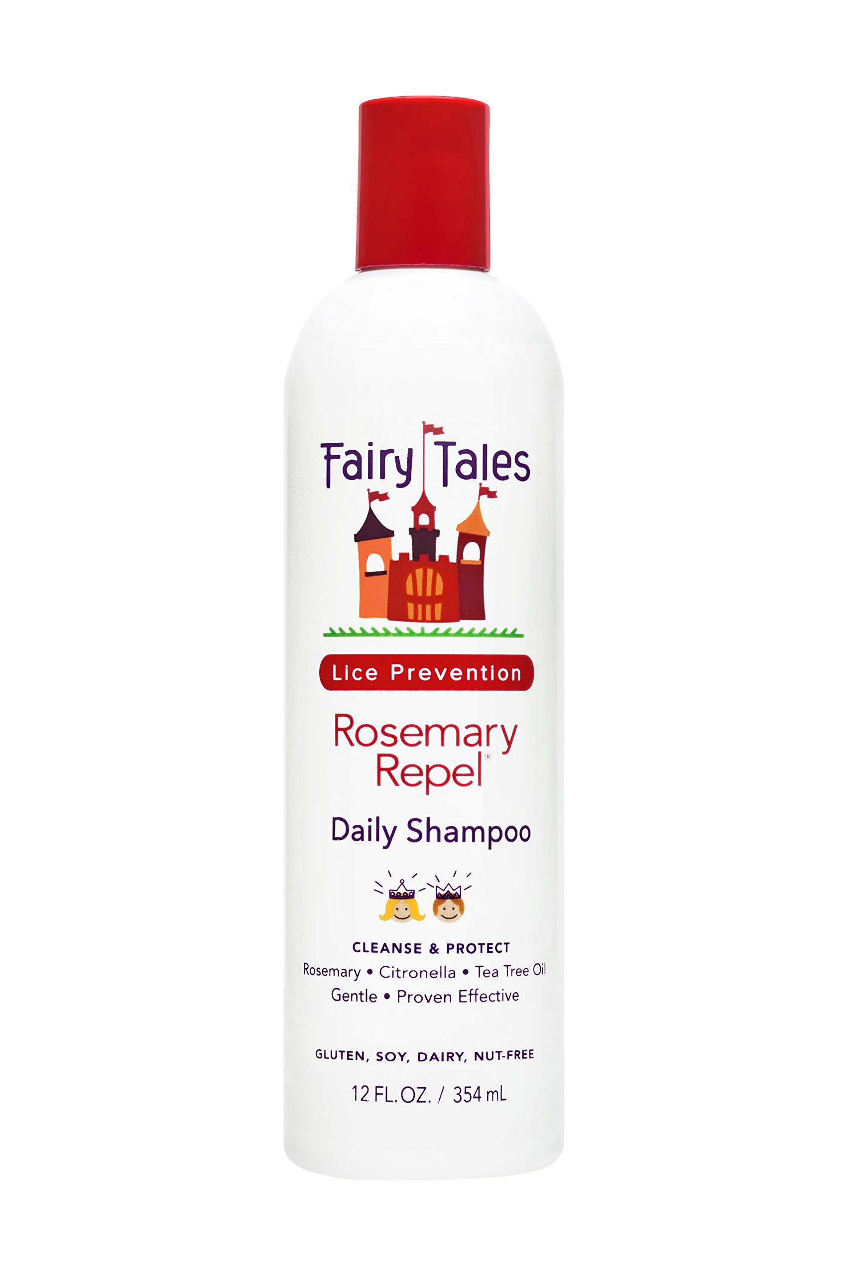 Fairy Tales Rosemary Repel Shampoo, 12 Fluid Ounce (Pack of 12)
