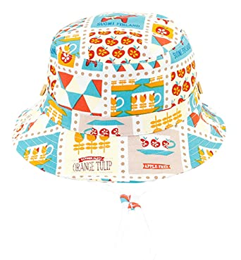 c39824a59ff7 RUHI Toddler Baby Sun Protection Bucket Hat Toddler Lovely Apples Horses  Cotton Spring Summer Cap With