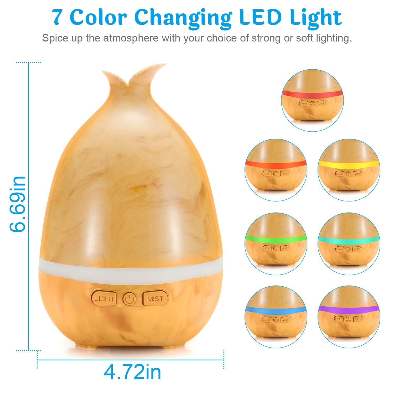 mit 16 Farben LED-Leuchten Diffuser für zu Hause Wasserlose Auto