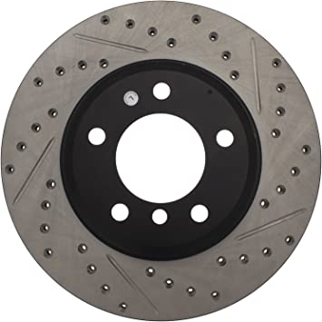 FRONT STOPTECH DRILLED /& SLOTTED BRAKE ROTORS