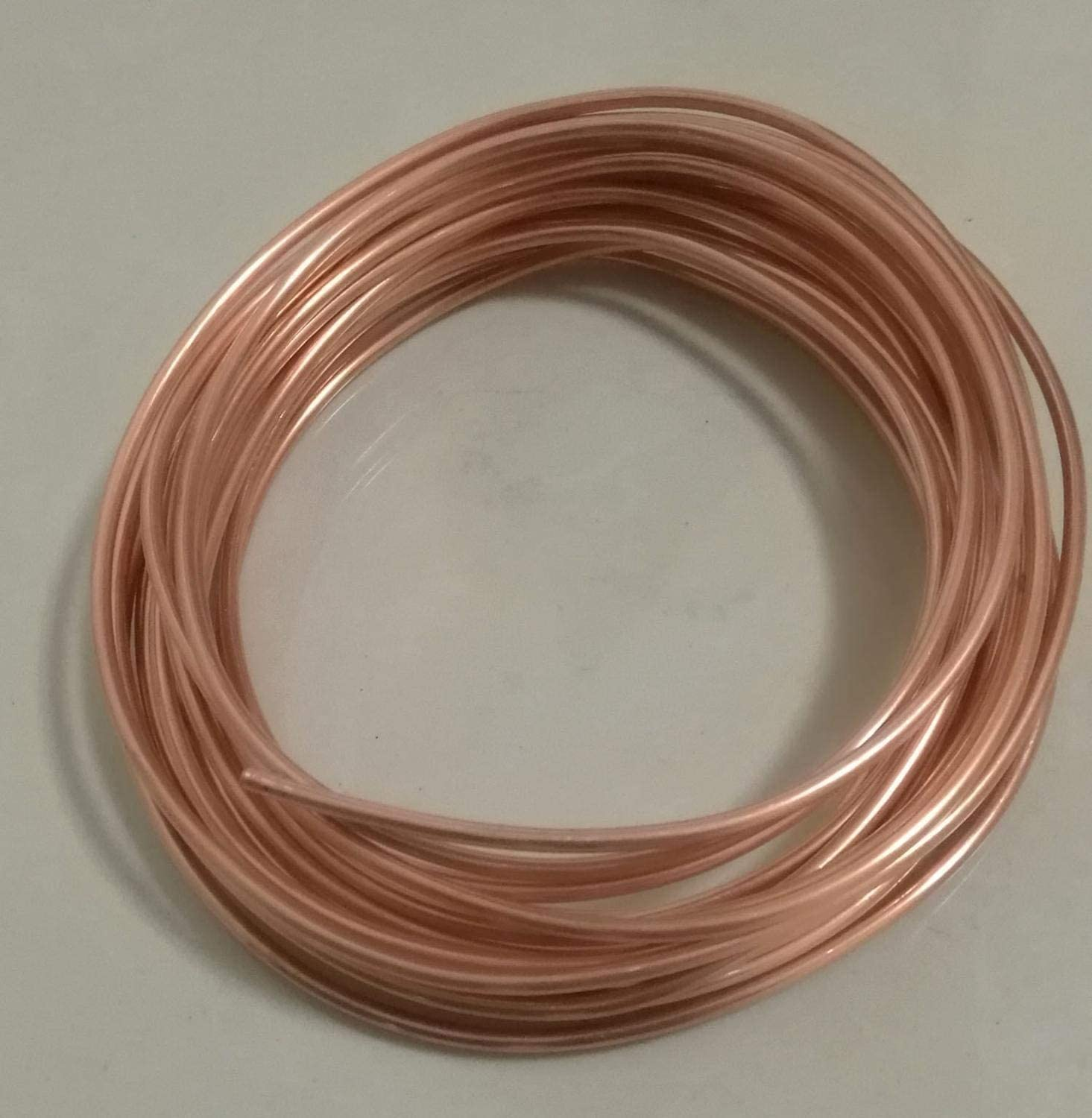 Used For Cooling And Water Heating Tool Generator Copper Pipe-cable Switch Equipment-DIY Outer Diameter 3mm Heat Dissipation Pipe BTCS-X 5m T2 Copper Pipe Fittings Heat Transfer Pipe