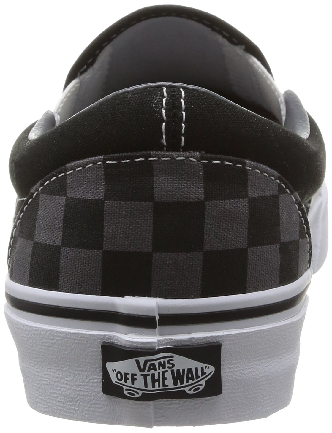 Vans Unisex Classic (Checkerboard) Slip-On Skate Shoe B000PGPFGS 43 M EU / 11.5 B(M) US Women / 10 D(M) US Men|Black/Pewter Checkerboard