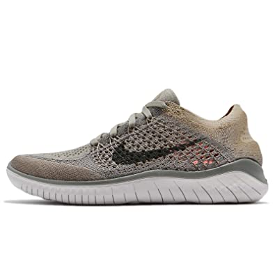 new style 23410 111f4 ... usa amazon nike womens wmns free rn flyknit 2018 dark stucco cargo  khaki road running 83430