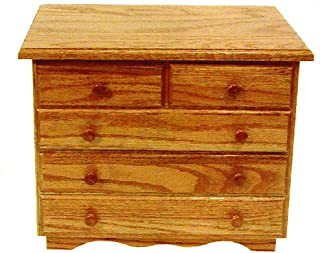 product image for Oak 5-Drawer Jewelry Chest - Amish Made in USA