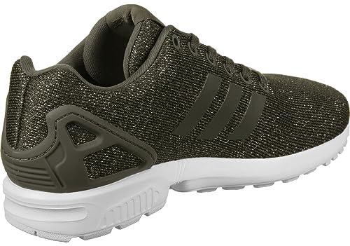 scarpe adidas donna zx flux nere e oro
