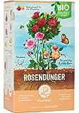 Plantura Bio Rosendünger mit 3 Monaten Langzeitwirkung für prächtige Rosen in Beet & Topf, Bio-Qualität, gut für den Boden, unbedenklich für Haus- & Gartentiere, 1,5 kg