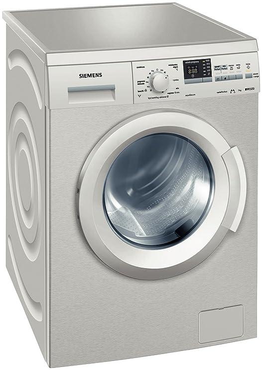 Siemens WM10Q31XEE Independiente Carga frontal 7kg 1000RPM A Plata ...