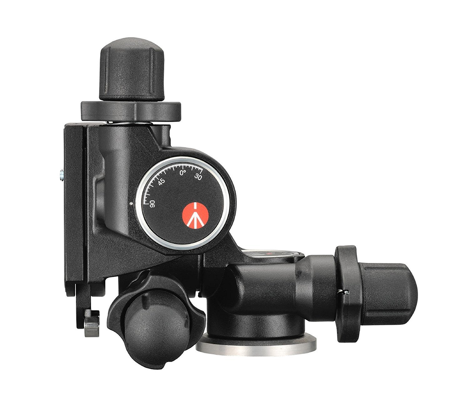 Manfrotto 410 Junior Geared Tripod Head with Quick Release and a Bonus Ivation Quick Release Plate by Manfrotto (Image #5)