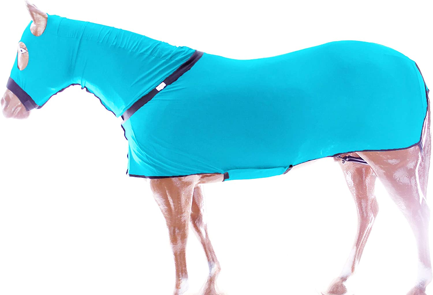 Challenger Midwwest Horse Comfort Stretch Lycra Sleazy Full Body Sheet Neck 521MW01