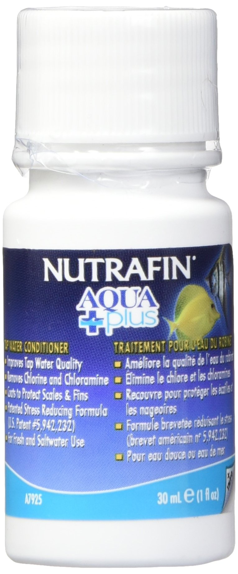 Nutrafin Aqua Plus Tap Water Conditioner, 1-Ounce
