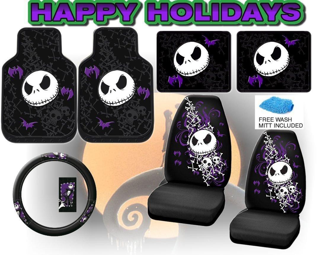 Amazon.com: Nightmare Before Christmas Full Auto Interior Gift Set ...