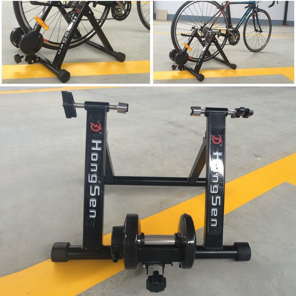 24 - 27 pulgadas rodillo de entrenamiento bicicleta estática bicicleta freno magnético: Amazon.es: Deportes y aire libre