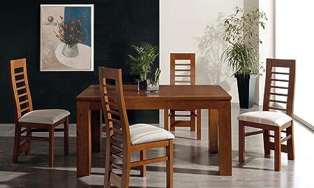 Tavolo Color Ciliegio Allungabile.Tavolo Da Pranzo Allungabile 150 250 Cm Colore Ciliegio Intenso