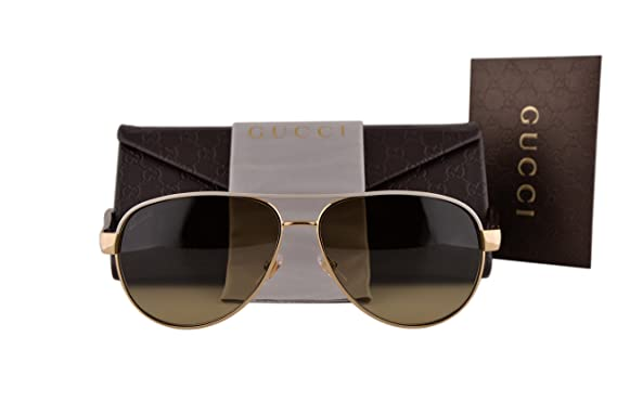 a625d56df17 Gucci GG4239 S Sunglasses Ivory Gold Havana w Brown Gradient Lens BOAED GG  4239 S For Women  Amazon.co.uk  Clothing