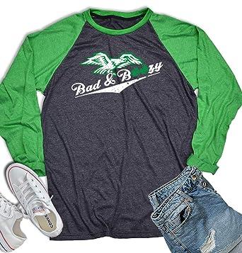 1567f2b08 Bad and Boozy St Patrick's Baseball Shirt 3/4 Sleeve St Patrick Day Vintage  Irish
