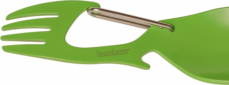Carabiner and Bottle Opener Fork Kershaw Ration Multi Tool Spork Regular and XL Length Stainless Steel Spoon