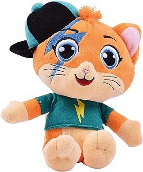 44 Gatos - Peluche Musical de Lampo con Música de la Serie de TV, para Niños de Todas las Edades, 20 cm: Amazon.es: Juguetes y juegos