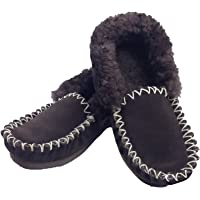Boutique Retailer 100% Sheepskin Moccasins Slippers Winter Casual Genuine Slip On UGG Non-Slip