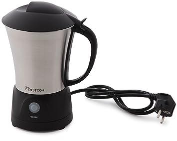 Bestron DCF990 - Espumador de leche (550 W), en acero inoxidable: Amazon.es: Hogar
