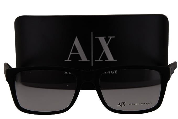 b8f8500474 Image Unavailable. Image not available for. Colour  Armani Exchange AX3016  Eyeglasses 53-17-145 Matte Black 8078 ...