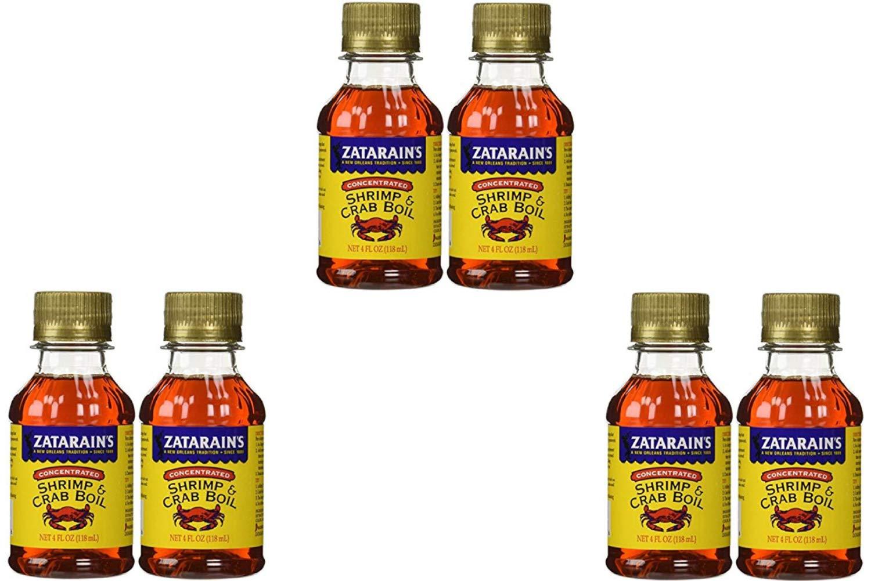 Zatarain Shrimp And Crab Boil 4 Fl Oz (Pack of 2) (3 Pack)