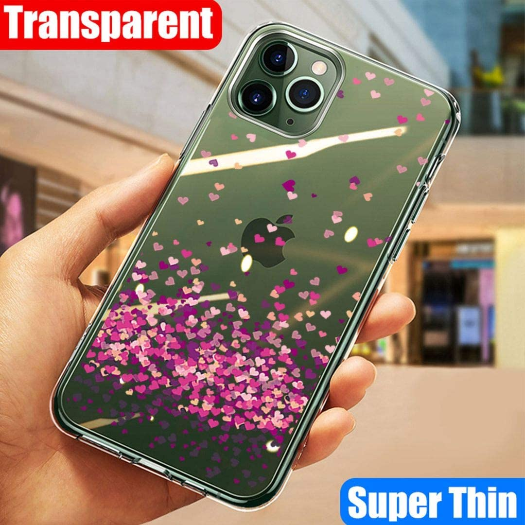Transparent Silicone Soft TPU Cover Shell for Oppo A5 2020 Tempered Film Glass Screen Protector -WM85 6.5 LJSM Case for Oppo A5 2020
