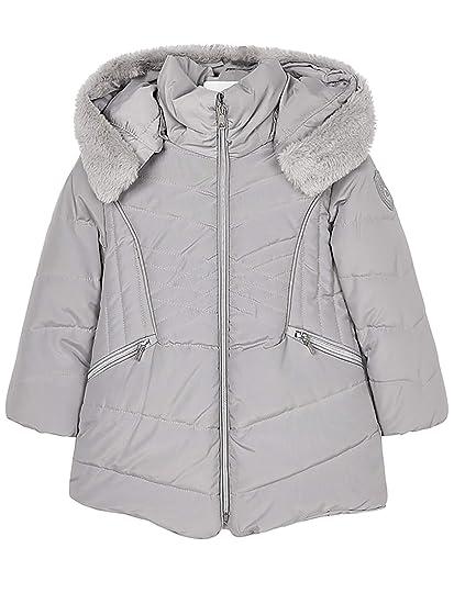c0f194ab98a Mayoral - Padded Coat for Girls - 4437, Silver: Amazon.co.uk: Clothing
