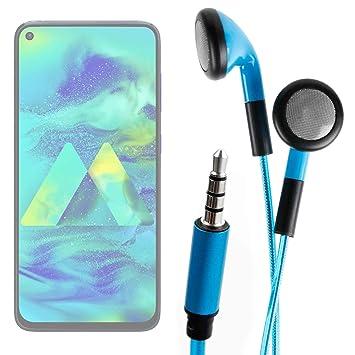 DURAGADGET Auriculares In-Ear con Luz LED Azul Compatible con ...