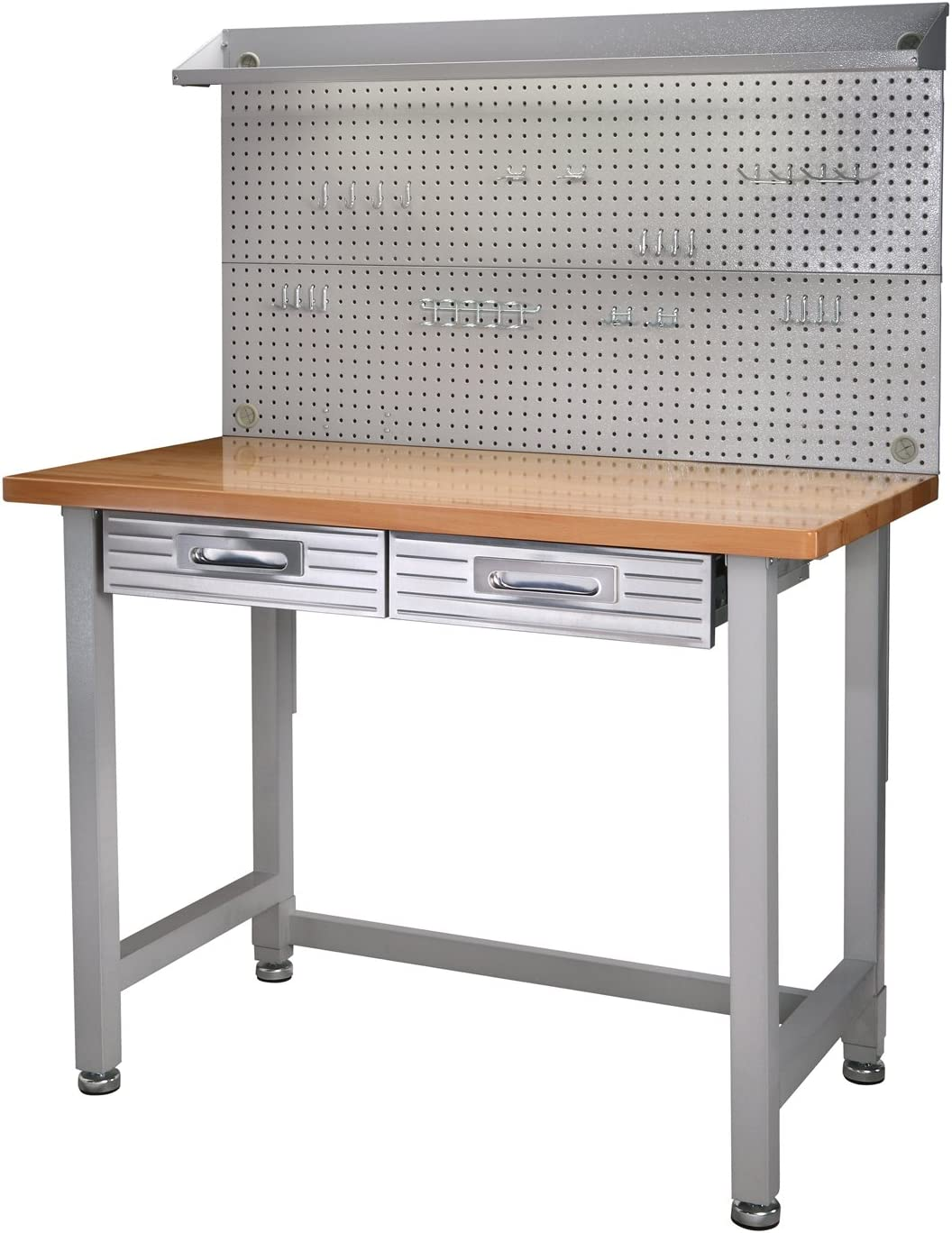 3. Seville Classics UHD20247B UltraHD Lighted Workbench