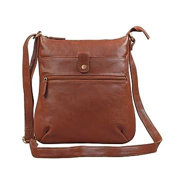 3010d85df4bb0 STILORD  Lina  Elegante Vintage Damen Umhängetasche Schultertasche klein  Abendtasche Klassische Handtasche 10.1 Zoll Tablettasche
