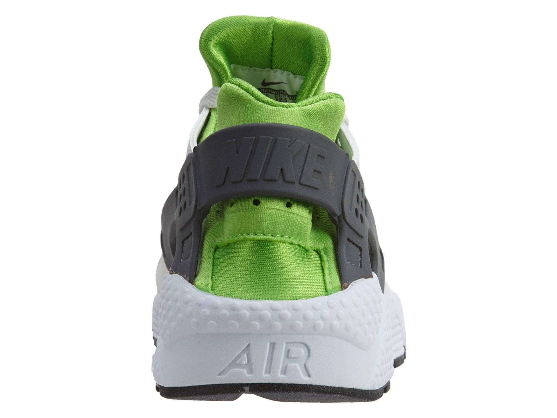 Nike Men's Air Huarache Actn Green/Vvd Orng Phntm Wht Running Shoe 10.5 Men US by NIKE (Image #3)