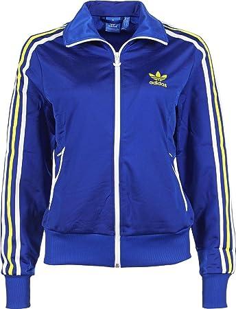 e70214638735f adidas Women's Track Jacket, Womens, Trainingsjacke Firebird Ml, Collegiate  Royal/fairway,