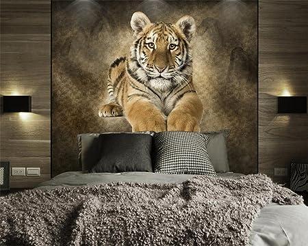 Lhdlily 3d Wallpaper Mural Fresco Sticker Custom Wallpaper Animals