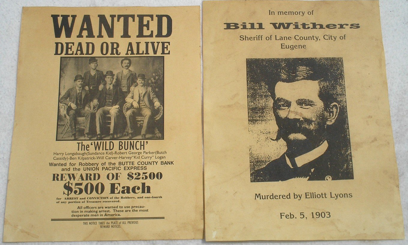 Amazon Set of 12 Reproduction Old West Wanted Reward Posters – Real Wanted Poster