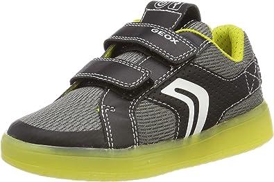 tenedor Relativamente Panorama  Amazon.com | Geox J Kommodor Boy a Low-Top Sneakers | Sneakers