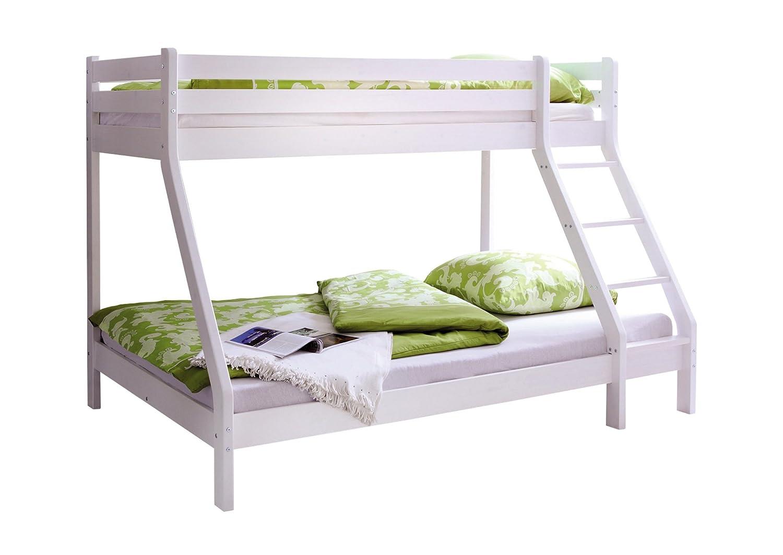 Etagenbett Weiss Metall : ᑕ❶ᑐ etagenbett weiß ▻ bestseller für ihr schlafparadies ✓das