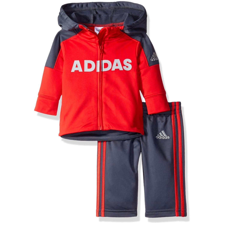 adidas Boys' Zip Hoodie and Pant Set Adidas Boys 2-7