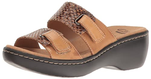 e1c591a68261 Clarks Women s Delana Fenela Slides  Amazon.ca  Shoes   Handbags