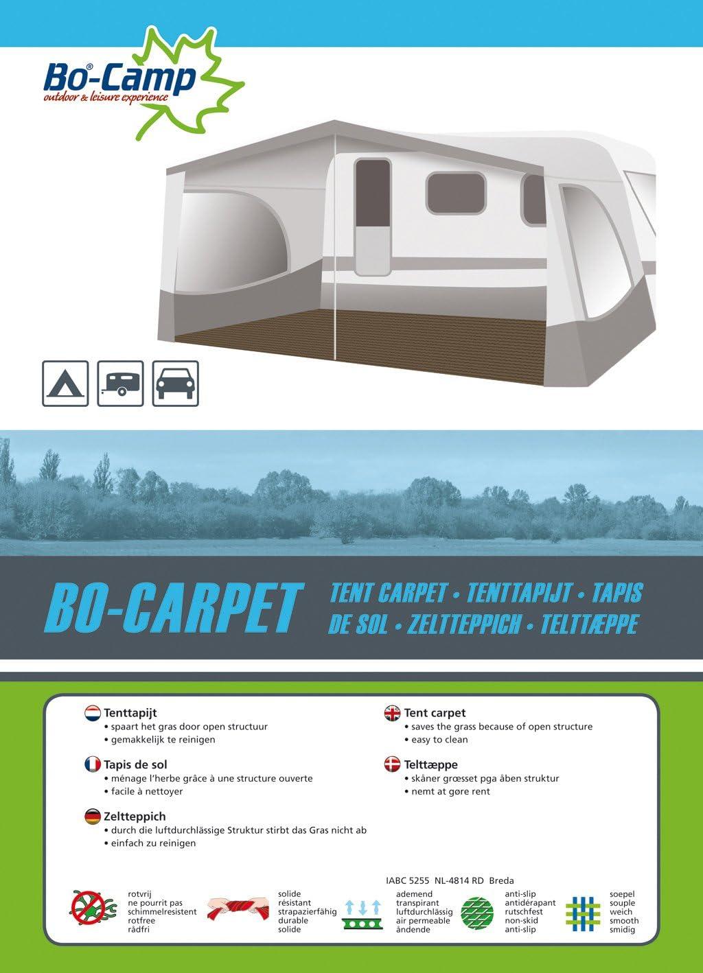 Bo-Camp Zeltteppich Vorzelt Teppich Camping Zeltboden Outdoor Zelt Teppich 2 bis 6 m