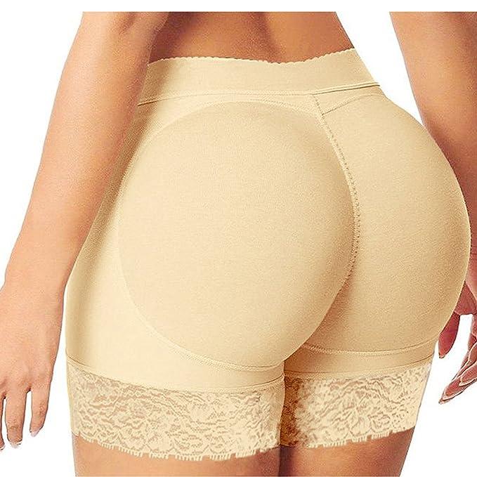 populäres Design Promo-Codes neuer Stil von 2019 Eleery Damen Unterwäsche Po Push Up Unterhose Slip Panties Hoch Taille  Spitze Padded Höschen Seamless Bodyshaper Shapewear