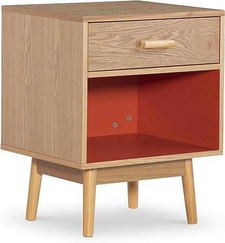Linon End Table, Brown
