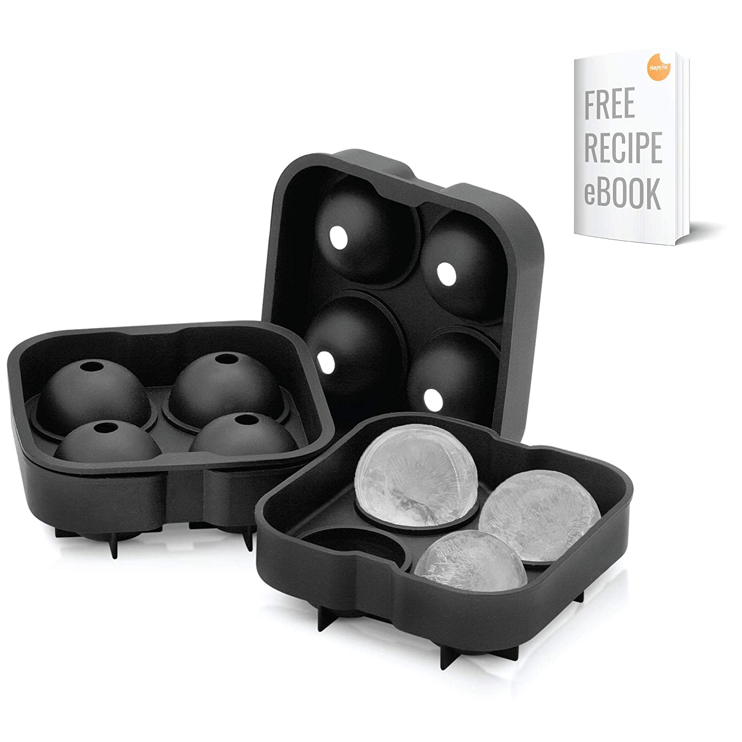 "2"" Ice Ball Mold by Artic Chill 