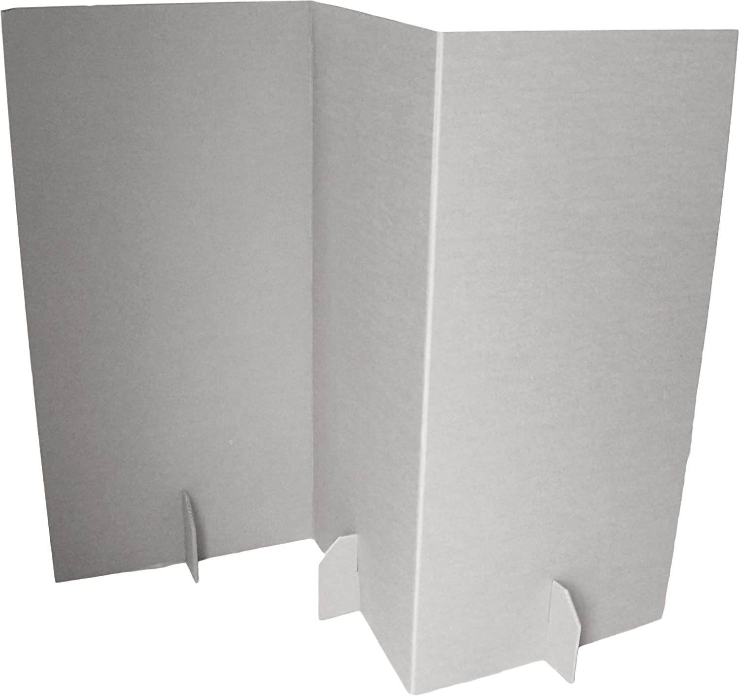 paperpod room divider cardboard white 2 piece amazon co uk