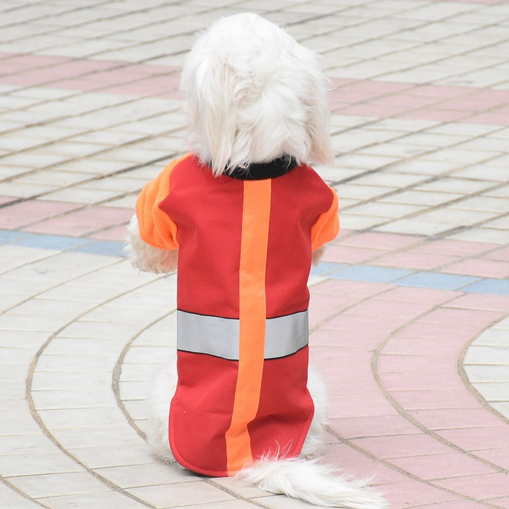 Red L Red L Treading(TM) Waterproof Reversible Dog Jacket Designer Warm Solid Winter Dogs Coats Pet Clothes Pet Pup Puppy Kitten Cat Clothes Winter