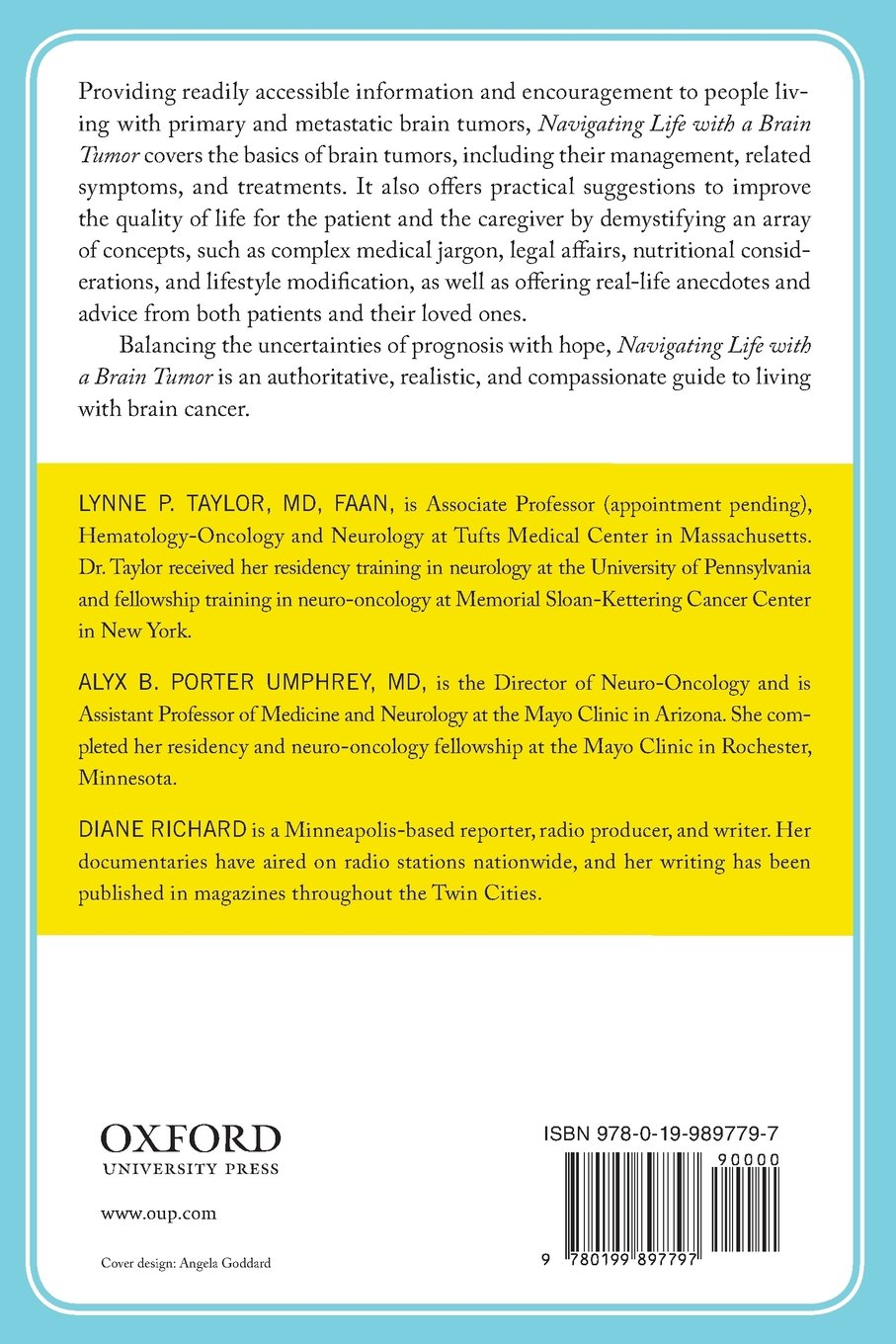 Navigating Life with a Brain Tumor (Neurology Now Books): Amazon co